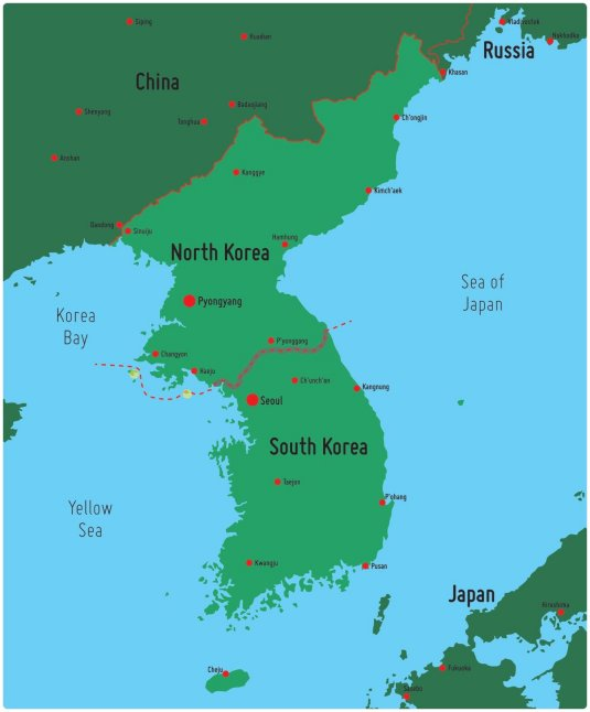 south north division in korea North and south korea exchanged artillery fire last thursday, but the two countries are hardly new to skirmishes on the border they remain officially locked in a 60-year-old war.