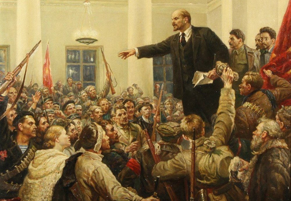 Hail the Centenary of the Great October Revolution